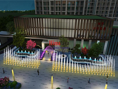 Himalaya Music Fountain Was Contracted to Build The Music Fountain Project in Miluo City