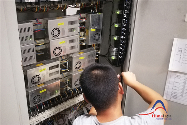 The Control System of Meixi Lake Fountain Is Fully Upgraded