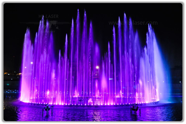 Tehran Military Museum Fire And Water Musical Fountain Project, Iran