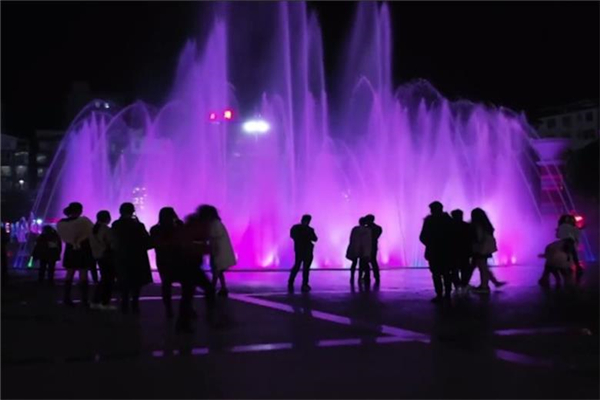 Sanlan Square Musical Dancing Fountain Project, China