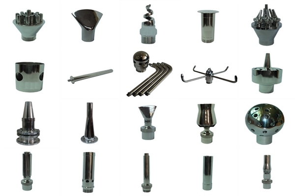 himalaya music fountain nozzles with various types